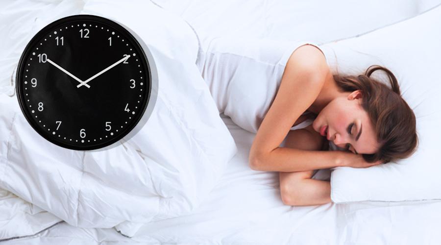 Beste tijd om naar bed te …