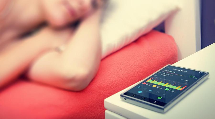 Slapen met een app